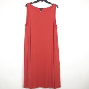 Eileen Fisher Dress XL Lightweight Viscose Jersey